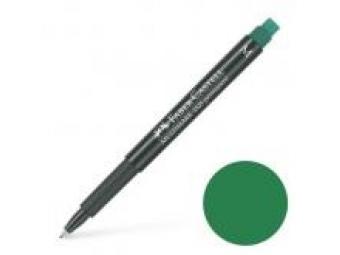Faber-Castell popisovač OHP permanentný S s gumou,zelený