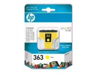 HP No.363 Atramentová kazeta Yellow (C8773E) KRÁTKA DOBA SPOTREBY Exsp.: 08 2021