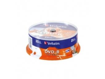 Verbatim DVD-R printable cake (bal=25ks)