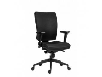 Antares Kancelárska stolička GALA Plus / látka Dora/ čierna