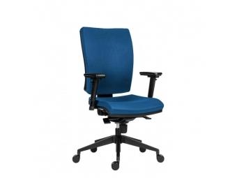 Antares Kancelárska stolička GALA Plus / látka Dora/ modrá