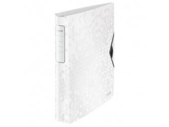 Leitz Zakladač 4-krúžkový Active WOW celoplastový 5,2cm biely