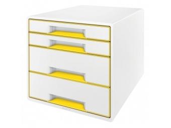 Leitz Zásuvkový box WOW žltý