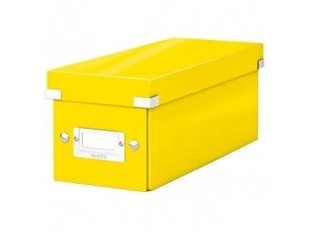 Leitz Škatuľa na CD Click - Store žltá