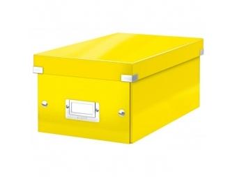 Leitz Škatuľa na DVD Click - Store WOW žltá
