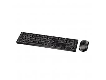 Hama 53818 Set bezdrôtovej klávesnice s optickou bezdrôtovou myšou RF 2200