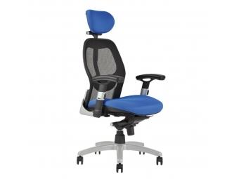 Office Stolička kancelárska SATURN NET modrá