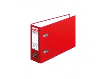 Herlitz Zakladač pákový maX.file A5 7,5cm na šírku červený