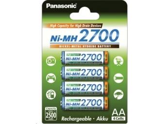 PANASONIC Nabíjacie batérie BK-3HGAE/4BE 2500mAh AA 1,2V (Blister 4ks)