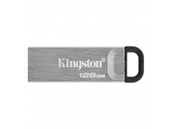 Kingston USB 3.2 DataTraveler Kyson 128GB kovový (200MB/s čítanie , 60MB/s zápis)