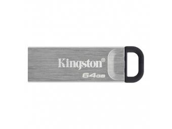 Kingston USB 3.2 DataTraveler Kyson 64GB kovový (200MB/s čítanie , 60MB/s zápis)