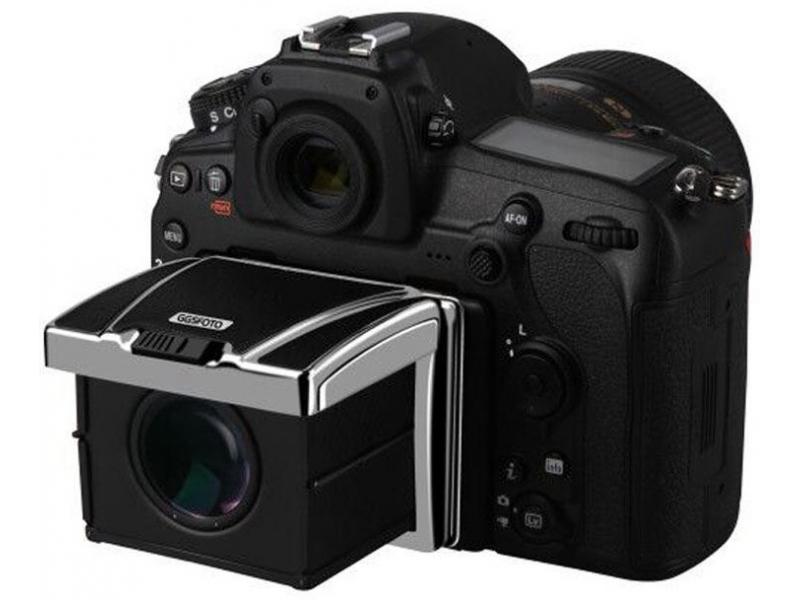 Larmor GGS N1S ochranné sklo + magnetická šachtička s okulárom na LCD pre Nikon