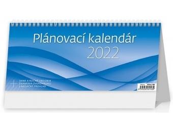 Kalendár 2022 PLÁNOVACÍ OFFICE stolový, týždenný, stĺpcový, 301x135mm