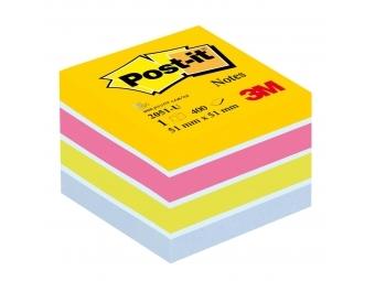 Post-it Bloček kocka 51x51mm mini mix farieb