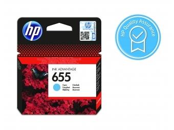 HP No.655 Atramentová kazeta Cyan (CZ110AE) KRÁTKA DOBA SPOTREBY Exsp.: 12 2021