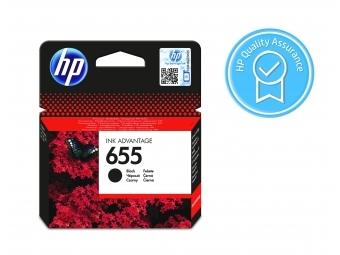 HP No.655 Atramentová kazeta Black (CZ109AE) KRÁTKA DOBA SPOTREBY Exsp.: 12 2021